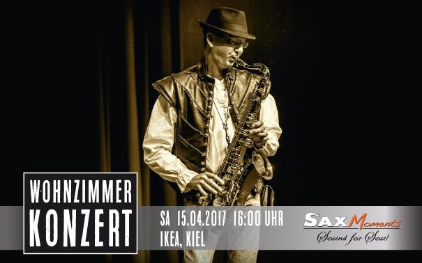 Heiko Frehse, Saxophonist & Redner für Live-Musik-Events in Kiel und Umgebung.