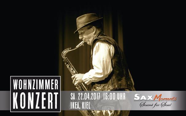 Heiko Frehse, Saxophonist & Redner für Live-Musik-Events in Kiel.