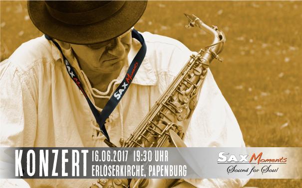 Heiko Frehse, Saxophonist & Redner für Live-Musik-Events in Papenburg.