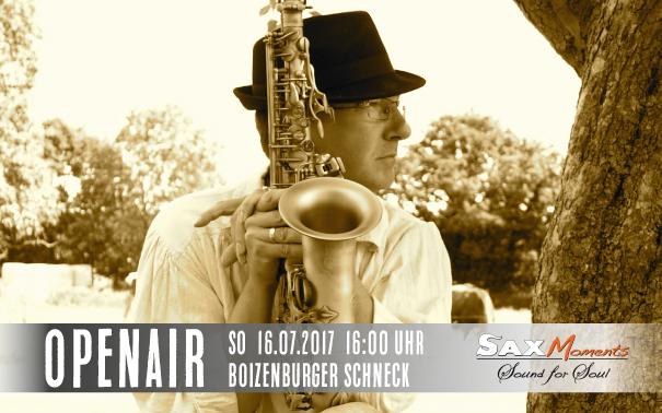 Heiko Frehse, Saxophonist & Redner für Live-Musik-Events in Boizenburg.