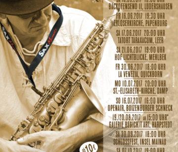 Heiko Frehse, Saxophonist & Redner für Live-Musik-Events im Norden Deutschlands.