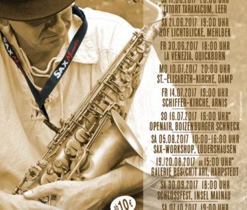 Heiko Frehse, Saxophonist & Redner für Live-Musik-Events im Norden.
