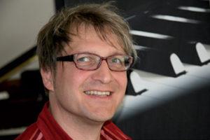 Portrait von Otto Lichtner, Pianist und Produzent.