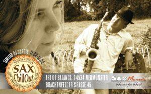 Vinyasa-Yoga & SaxChillOut, Art of Balance, Neumünster (24534) @ Art of Balance | Neumünster | Schleswig-Holstein | Deutschland