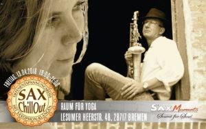 SaxChillOut mit Tiefenentspannungsreise, Bremen (28717) @ Raum für Yoga | Bremen | Bremen | Deutschland