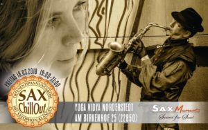 SaxChillOut mit Tiefenentspannungsreise, Norderstedt (22850) @ Yoga Vidya Norderstedt | Norderstedt | Schleswig-Holstein | Deutschland
