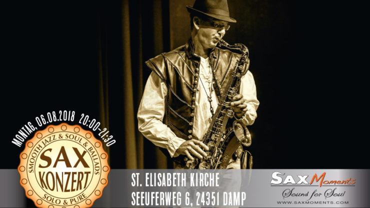 Heiko Frehse, freier Redner & Saxophonist im Ostsee-Resort Damp.