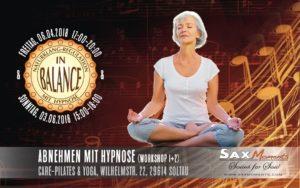 Abnehmen mit Hypnose, Soltau (Teil 1 von 2) @ Care-Pilates & Yoga  | Soltau | Niedersachsen | Deutschland