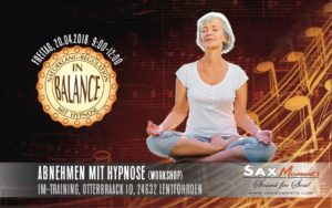 Abnehmen mit Hypnose, Lentföhrden (24632) @ im-training Bewegungszentrum | Lentföhrden | Schleswig-Holstein | Deutschland