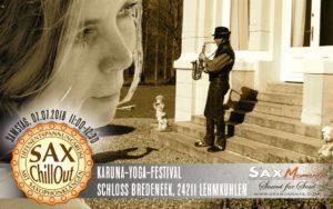 KARUNA-YOGA-FESTIVAL mit SaxChillOut, Schloss Bredeneek (24211) @ Schloss Bredeneek | Lehmkuhlen | Schleswig-Holstein | Deutschland