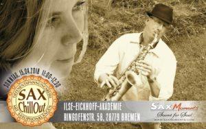SaxChillOut mit Tiefenentspannungsreise, Bremen (28779) @ Ilse-Eickhoff-Akademie | Bremen | Bremen | Deutschland