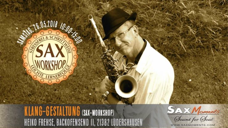 Heiko Frehse, freier Redner & Saxophonist in Lüneburg.