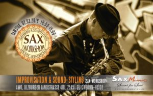 Sax-Workshop: Improvisation & Sound-Styling @ AWO Quickborn-Heide | Brietlingen | Niedersachsen | Deutschland