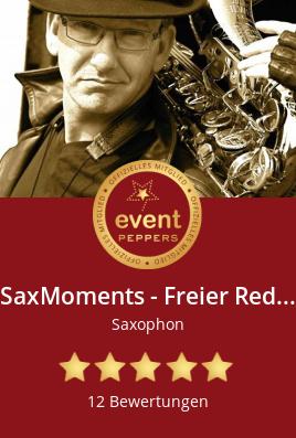 Einzelmusiker, Saxophon