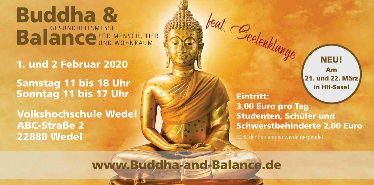 """Gesundheitsmesse """"Buddha & Balance feat. Seelenklänge mit dem Saxophon in Wedel."""
