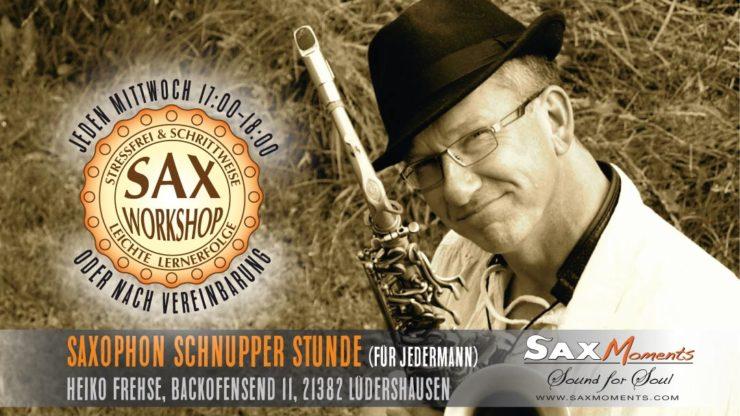 Heiko Frehse, Saxophonist & Freier Redner südlich von Hamburg.