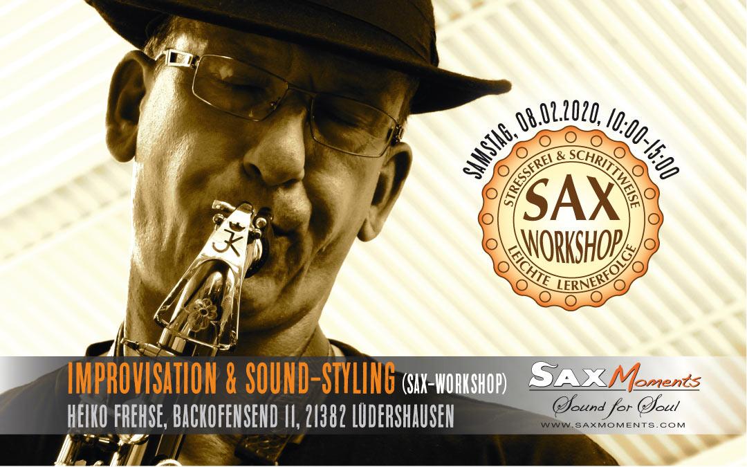 Heiko Frehse, Saxophonist & Freier Redner rund um Winsen.