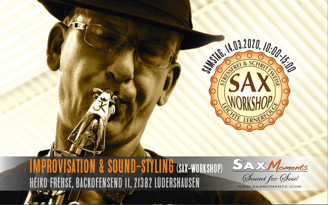 Heiko Frehse, Saxophonist & Freier Redner rund um Hamburg-Harburg.